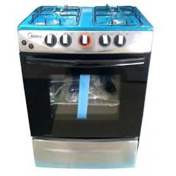 Midea Appliances: MIDEA 4 BURNER GAS COOKER (LM65038)